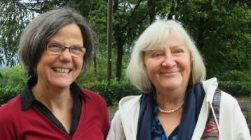Gerlinde Bay und Birgit Klement leiten die Freizeit